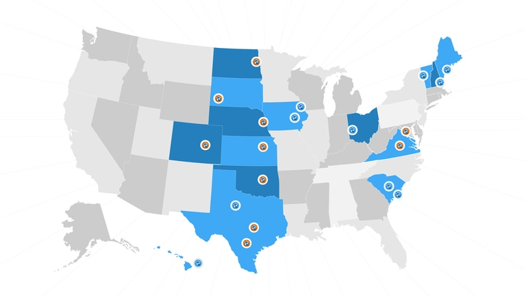 Learn the top cities for servicemembers to retire