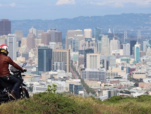 One way to ensure more time on your bike in 2018: Plan trips to far-off locations. San Francisco is a top destination for motorcyclists. (Rachel Norton)