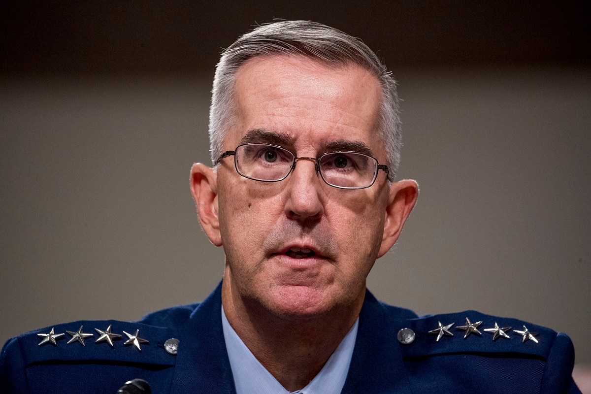The CNO and JCS vice chair nominee: What General Hyten