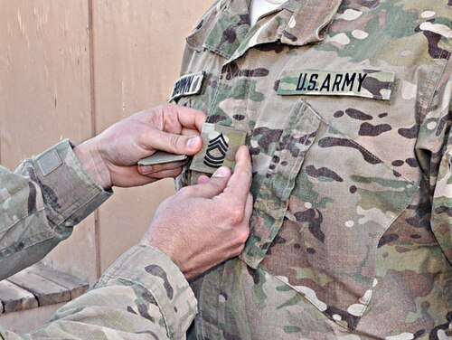 The Army has released the names of the NCOs selected for promotion in September. (Sgt. John D. Ortiz/Army)