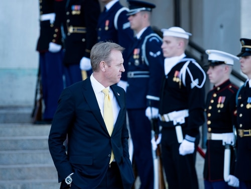 Deputy Secretary of Defense Patrick Shanahan could suddenly find himself in the spotlight, following Secretary of Defense Jim Mattis' announced departure. (Brendan Smialowski/AFP via Getty Images)