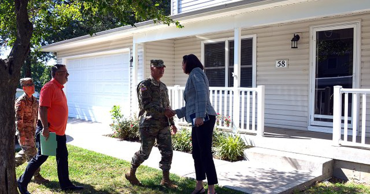 Here's how this general is working to fix mold and other housing problems