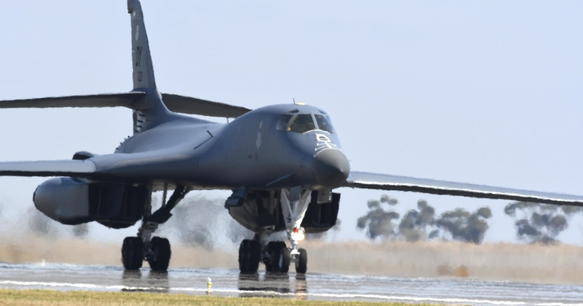 Image result for US Air Force: B-1 Bomber Facts