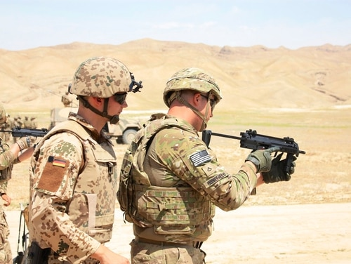 The Army has asked industry to provide examples of a 9mm submachine gun for soldier protection gaps. (Army)