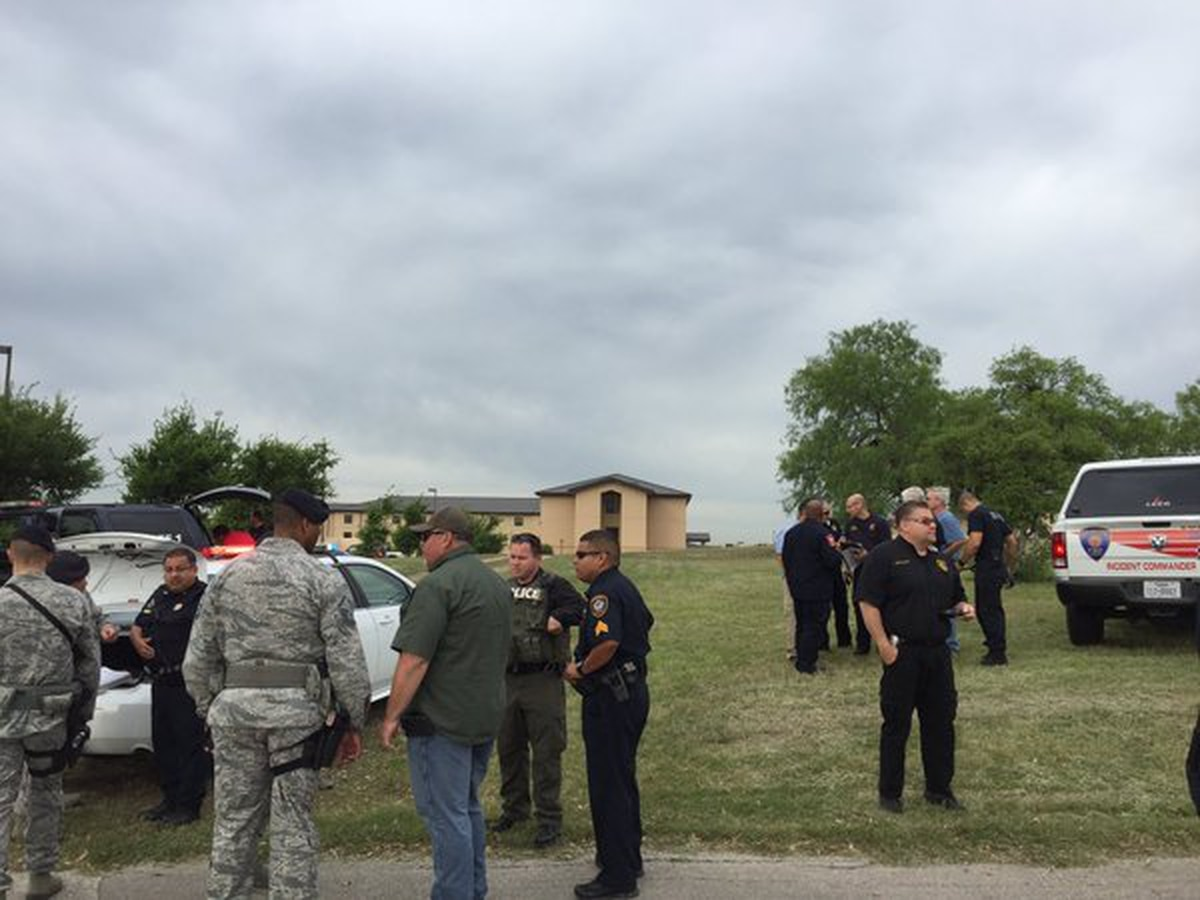 Two dead in shooting at Lackland Air Force Base in San Antonio
