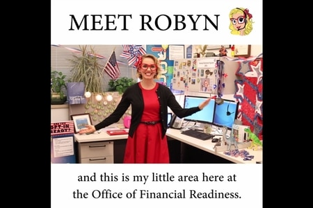 Robyn, the Department of Defense's Blended Retirement System guru, discusses the facts and the fiction of BRS in a video posted by Defense.