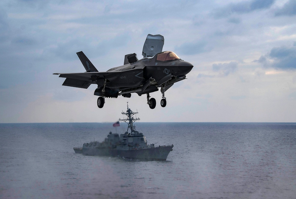 The Marine Corps has lost its first F-35
