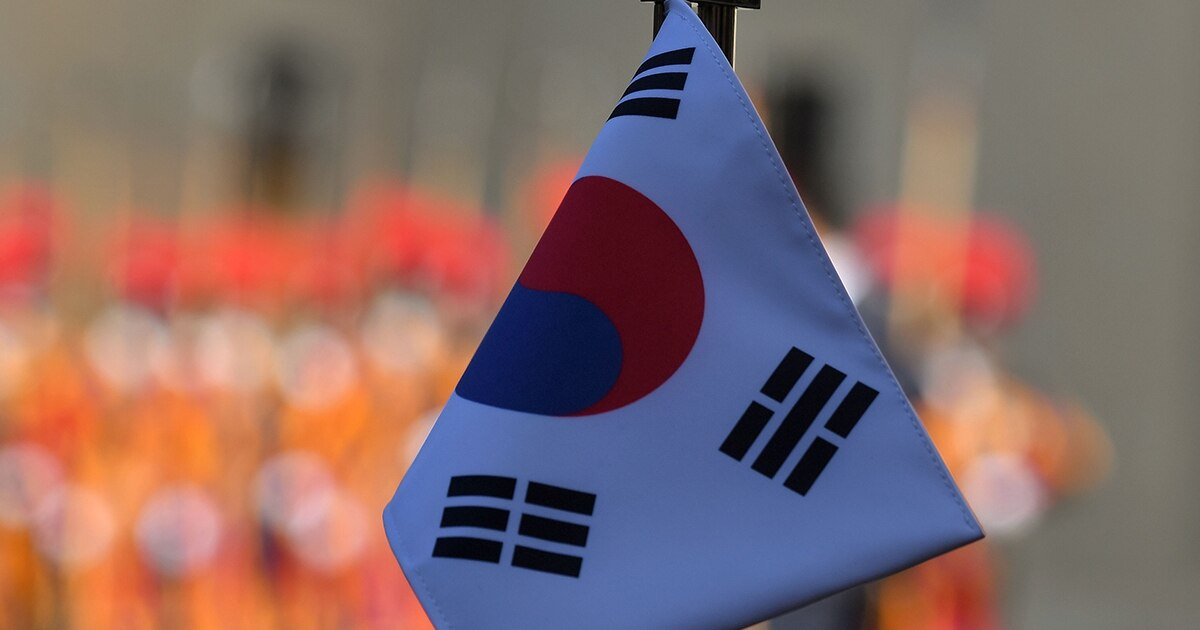 South Korea's first training ship enters naval service