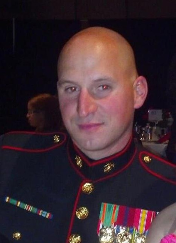 U.S. Marine Sgt. David Wyatt was laid to rest Friday in Chattanooga. (Photo: Submitted via WBIR)