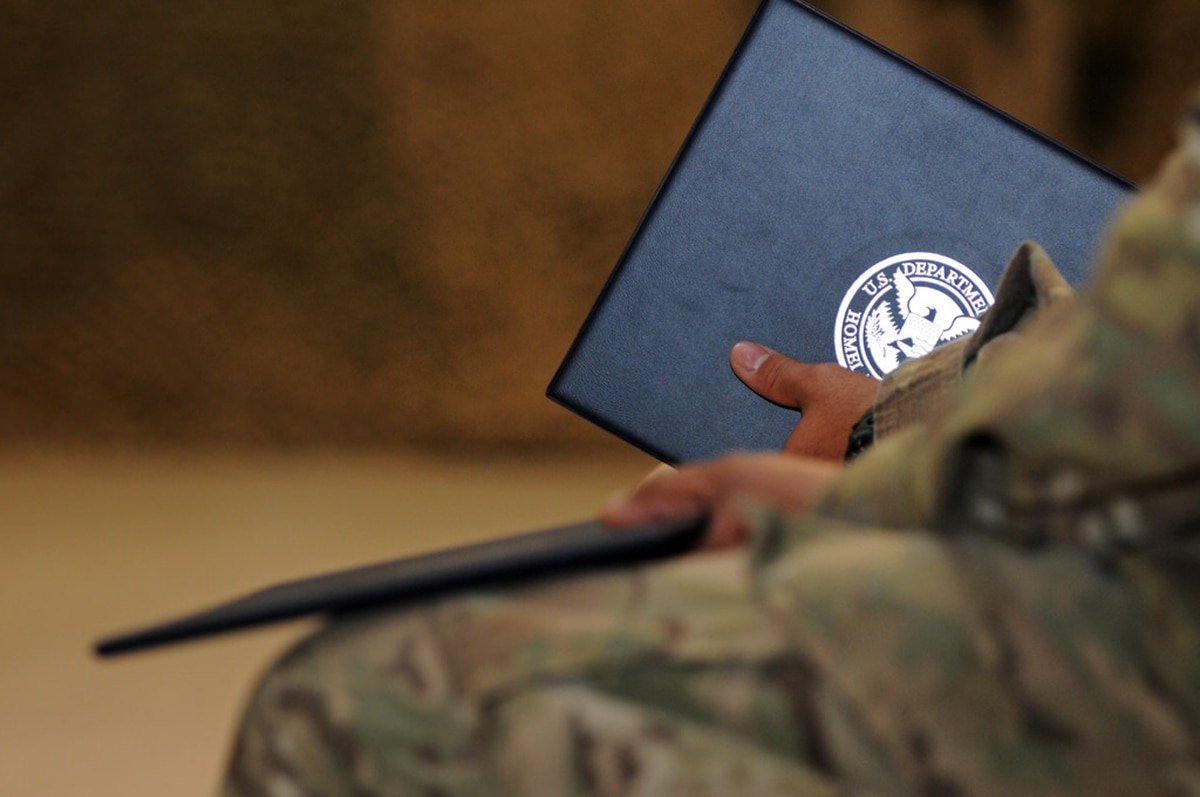 Specialist facing US Army discharge sues for citizenship