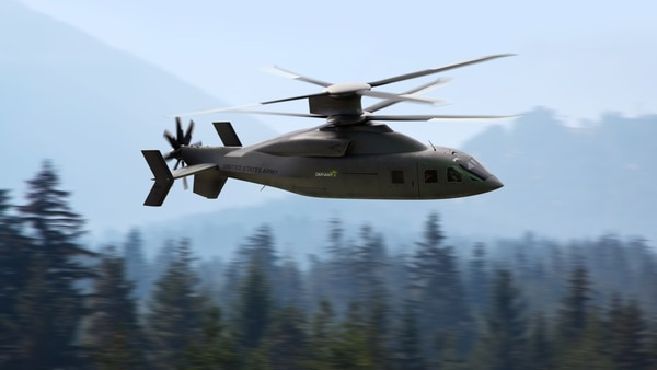 Sikorsky and Boeing unveiled their joint offering to the U.S. Army's Future Long Range Assault Aircraft competition on Jan. 25, 2021, calling it Defiant X. (Courtesy of Lockheed Martin and Boeing)