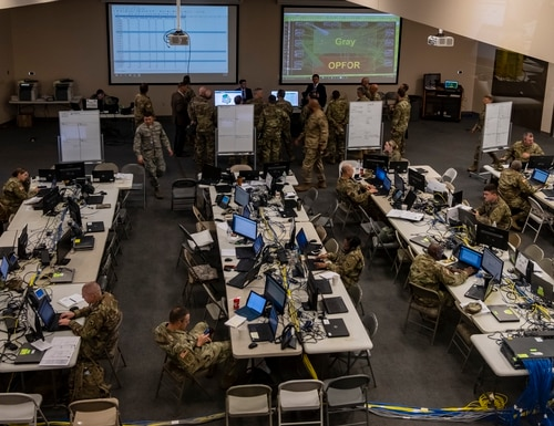 The Army's cyber protection teams need user-friendly tools and flexible training. (Spc. Joshua Syberg/Army)