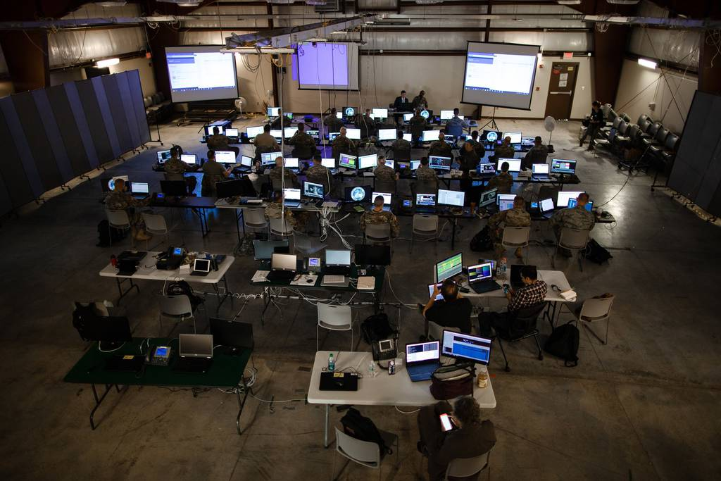 More than 800 service members and civilians gathered at Camp Atterbury for Cyber Shield 18 at Camp Atterbury, Ind., from May 6-18, 2018.