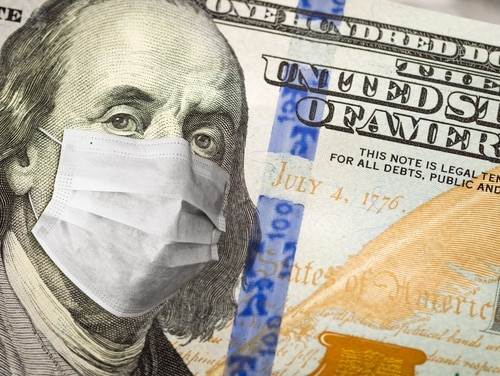 The Coronavirus Aid, Relief, and Economic Security Act authorizes agencies to reimburse contractors whose employees are on paid leave due to COVID-19 office closures. (Feverpitched/Getty Images)