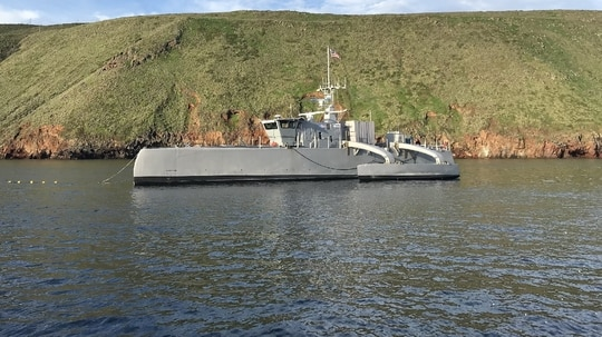 The U.S. Navy is developing a new campaign plan to drive investment in its unmanned portfolio. (U.S. Navy)