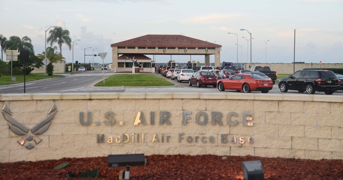 MacDill Air Force Base under lockdown, active shooter reported