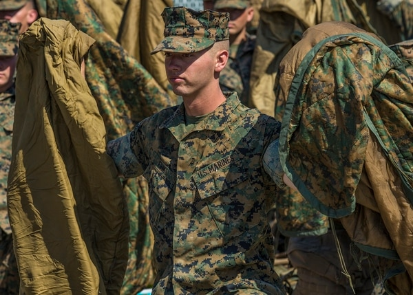 marine corps issued gear