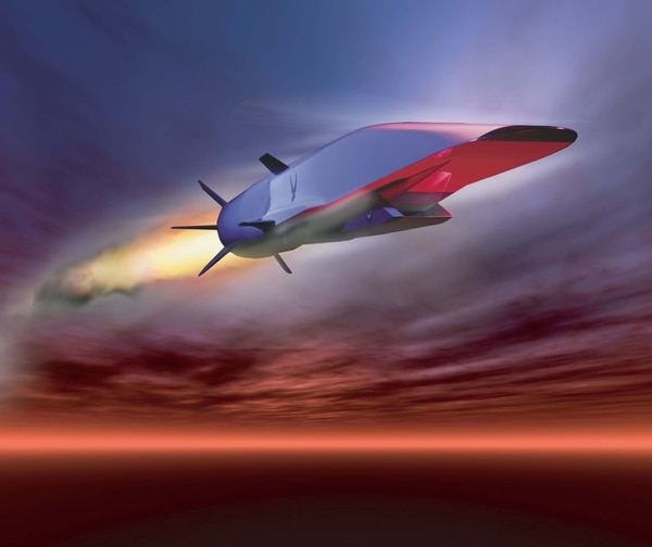 The X-51A Waverider has successfully shown hypersonic flight is possible. But Russia may have passed the U.S. in this crucial technology. (U.S. Air Force graphic)