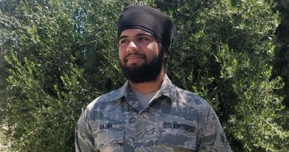 Beard and turban approved for Sikh airman