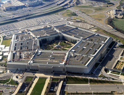 The Pentagon building in Washington. (AFP via Getty Images)