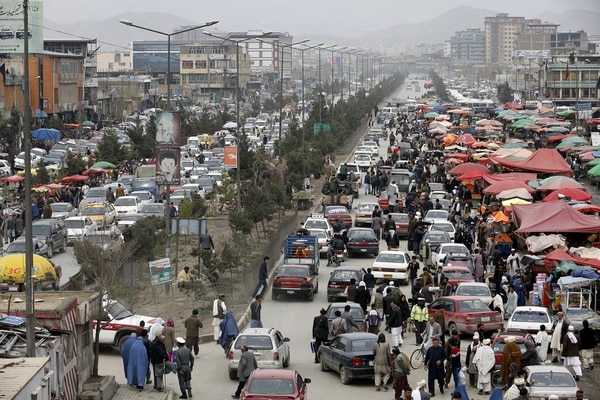 Spring weather in Kabul, Afghanistan, on April 5, 2017. (SIGAR)