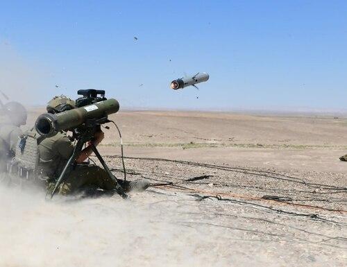 Israeli company Rafael makes the anti-tank guided missile Spike LR II. (Courtesy of Rafael)