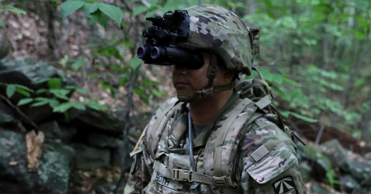 This Army Unit Will Be The First To Get The Most Advanced Night Vision Goggles With Thermal