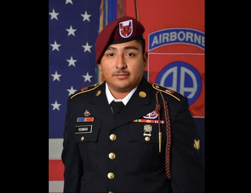 Spc. Enrique Roman-Martinez's partial remains were found and identified in late May. (Army)