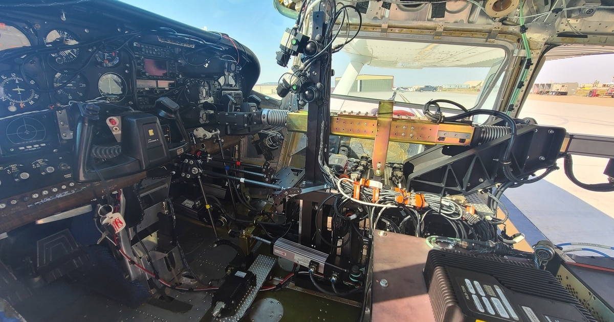 The Air Force's robot pilot returns to the skies
