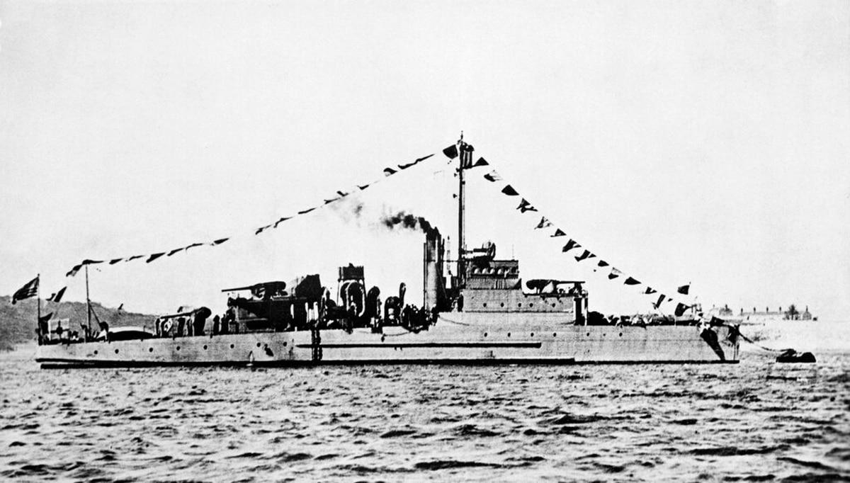 Navy vessel sunk by German sub in WWII finally found