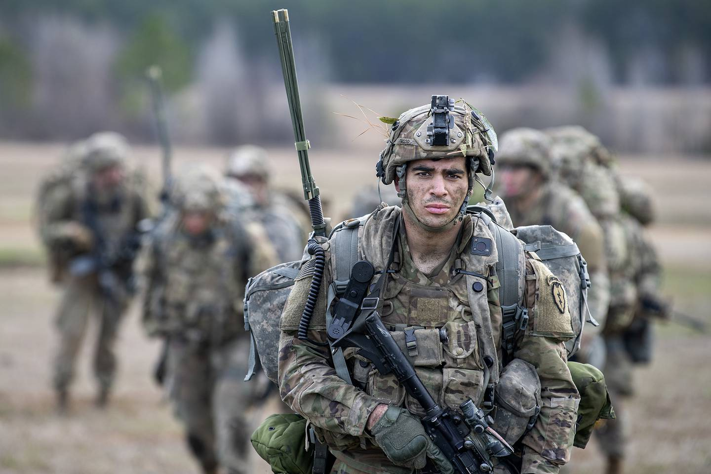 Soldiers, Airmen arrive in field for JRTC