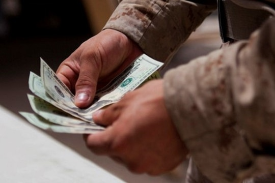 The pay raise that took effect Tuesday is the largest since 2010. (Marine Corps)