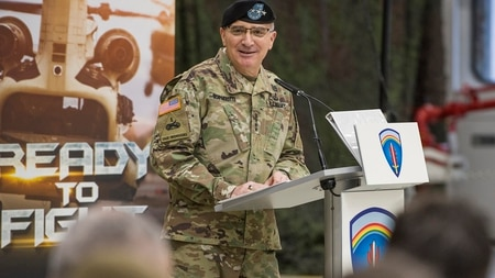 Gen. Curtis M. Scaparrotti, United States European Command (EUCOM) Commander, said the U.K. chemical weapons attack shows how far Russia is willing to go to achieve its objectives. (Volker Ramspott/Army)