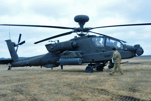 The nut in question holds very large bolts that subsequently hold the rotor blades on the helicopter and is therefore determined to be a critical safety item, Todd explained. (Capt. Gary Loten-Beckford/U.S. Army)