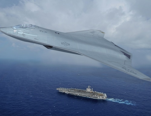 CAE plans to target future fighter and bomber programs. (MC2 James R. Evans/U.S. Navy)
