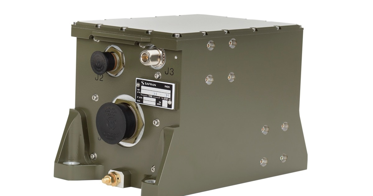 Eurosatory: This navigation system by Safran doesn't need GPS