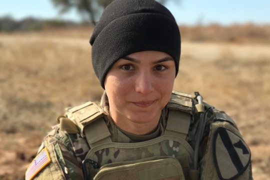 Spc. Alex Ketchum, an infantryman with 1st Cavalry Division at Fort Hood, Texas, officially changed her gender marker in 2017, following a year and a half of hormone therapy. (Photo courtesy Spc. Alex Ketchum)