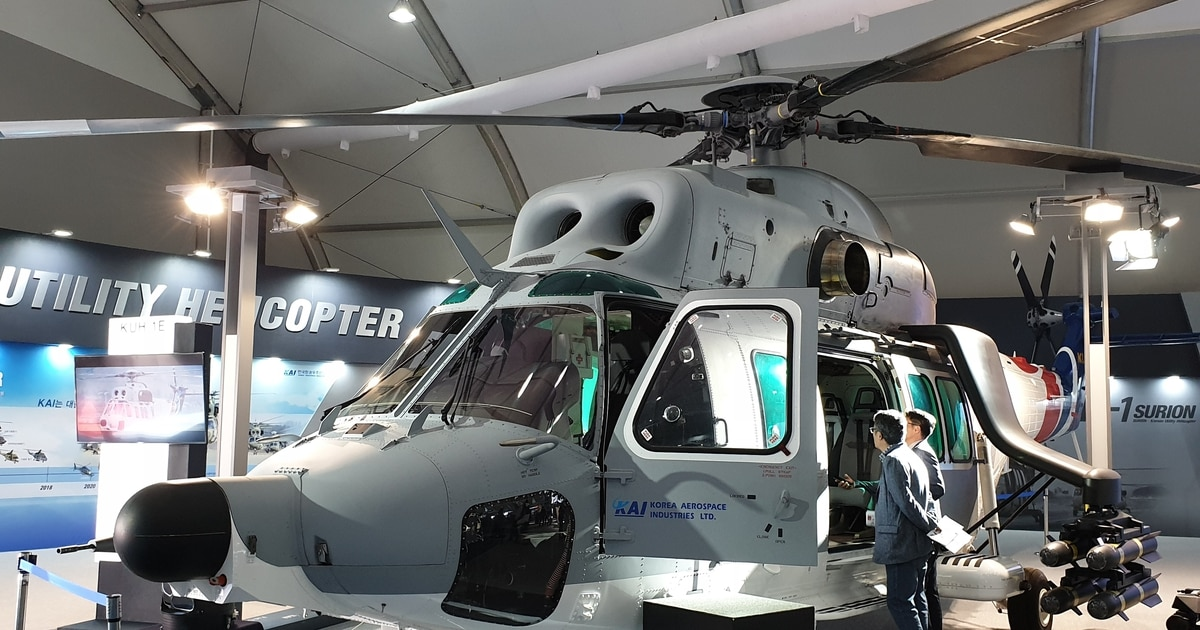 See KAI unveil a new export version of the Surion helo, following a fatal crash last year