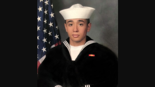 Naval Aircrewman (Helicopter) 3rd Class Daniel Perez died Jan. 11 in Guam. (Navy)