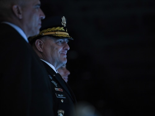 In a pre-hearing questionnaire, the nominee to be the next chairman of the Joint Chiefs of Staff addressed questions on a range of information warfare-related capabilities. (Spc. Dana Clarke/Army)