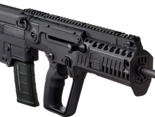 The bullpup design of the IWI Tavor X95, currently being used by Israeli Defense Forces, is under consideration in the Army's Next Generation Squad Weapon development. (Courtesy photo)