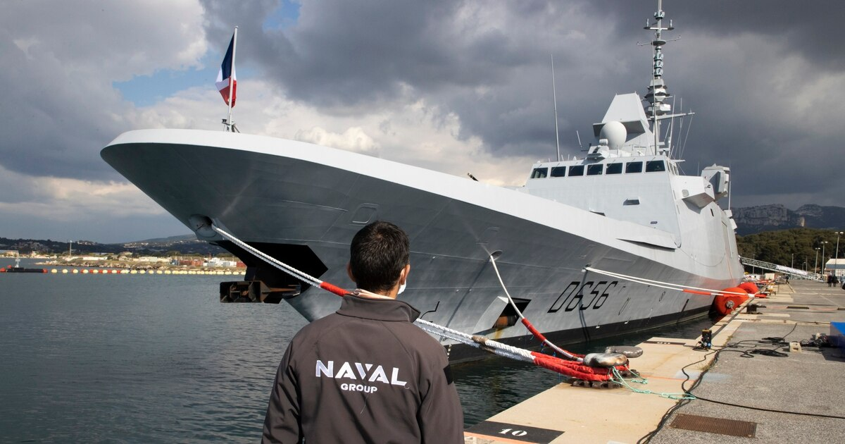 Naval Group delivers French frigate with bolstered capabilities