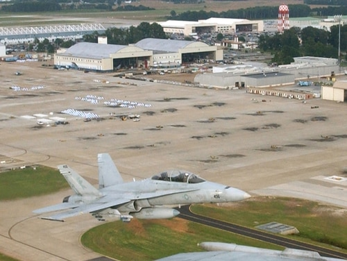 The Marine Corps on Friday rescinded all punitive measures against Lt. Col. Michael C. Nesbitt, the executive officer of the Naval Air Station Oceana-based Strike Fighter Squadron 106. (Navy)