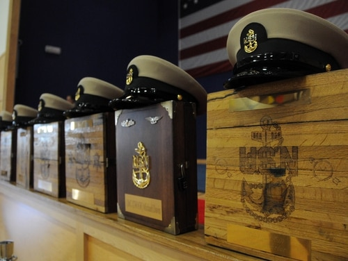 The Navy is putting plans in place to resume selection boards. (Senior Chief Michael A. Lantron/Navy)