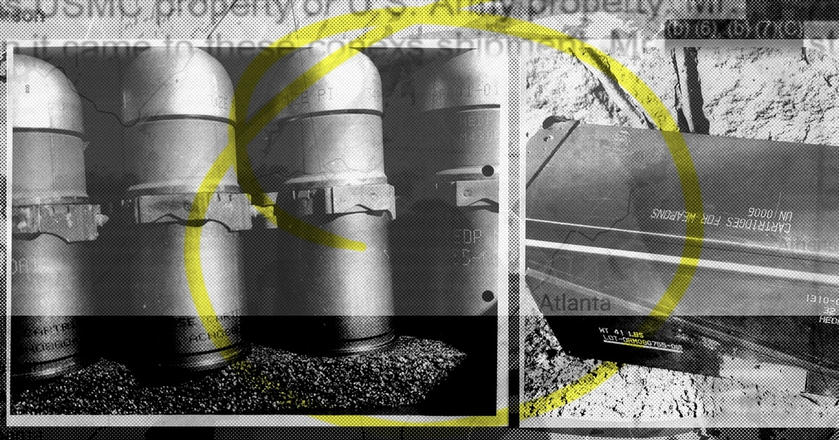 Military stumped by stolen box of Marine Corps armor-piercing grenades
