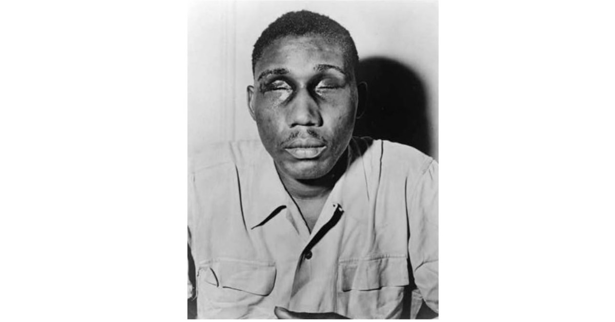 The blinding of a WWII vet opened America's eyes to the evil of Jim Crow