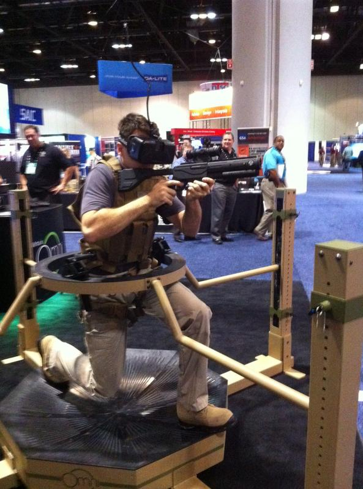Virtual Trainer Lets Troops Move In Simulated World