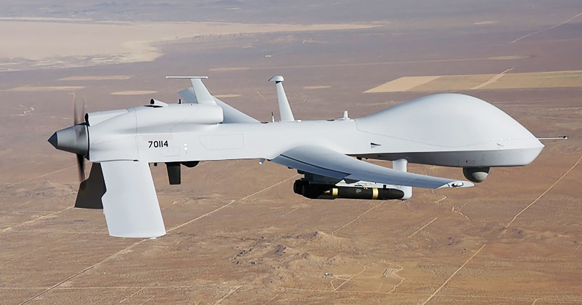General Atomics demos Gray Eagle's role in multidomain ops