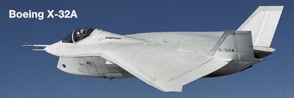 The X-32 was Boeing's entry in the competition to develop a Joint Strike Fighter. (Boeing)