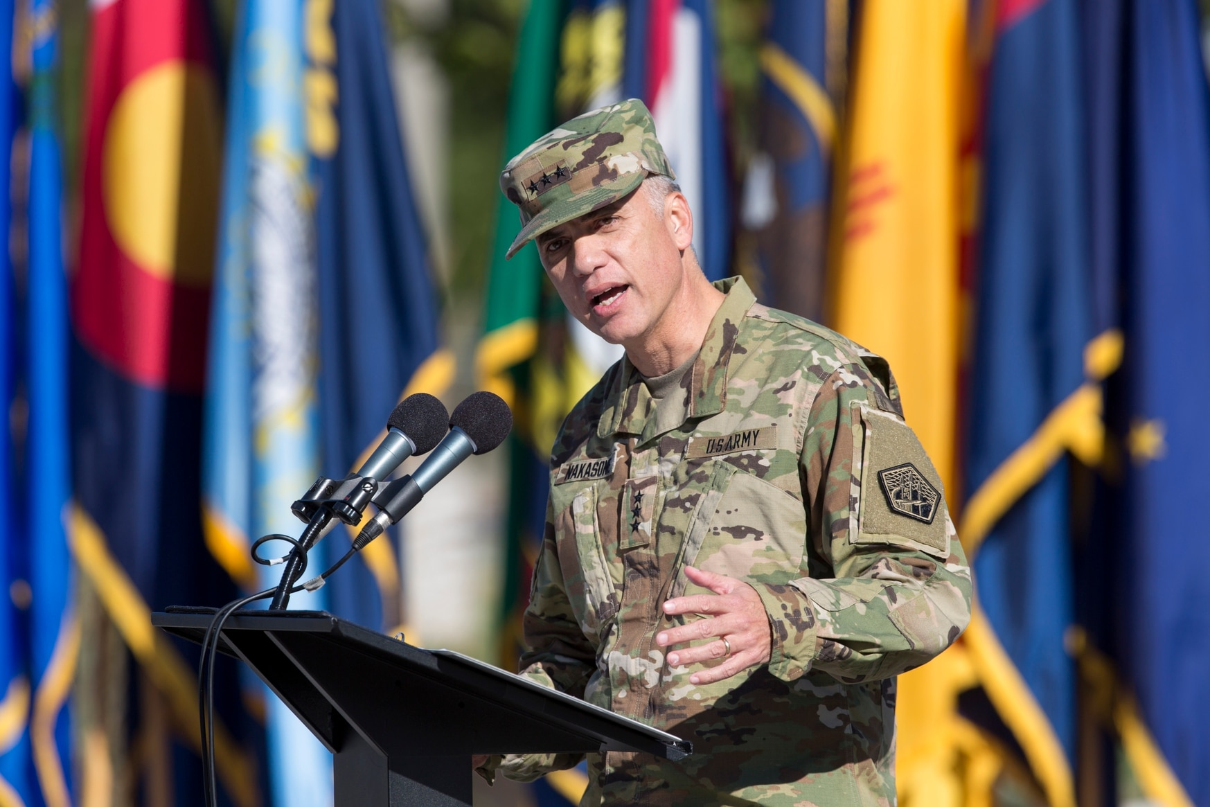 Lt. Gen. Paul Nakasone is now in charge of U.S. cyber command and the NSA. (Alan Lessig/Staff)
